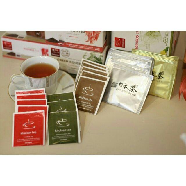 南非 有機博士茶無咖啡因發奶茶國寶茶試喝包綜合包組 100 有機原味