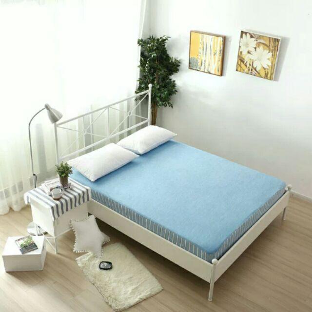 ~ ~ 宜得利同款接觸涼感床包雙人床包涼感枕套,真正2 度C 的涼爽親膚感由您來體驗!