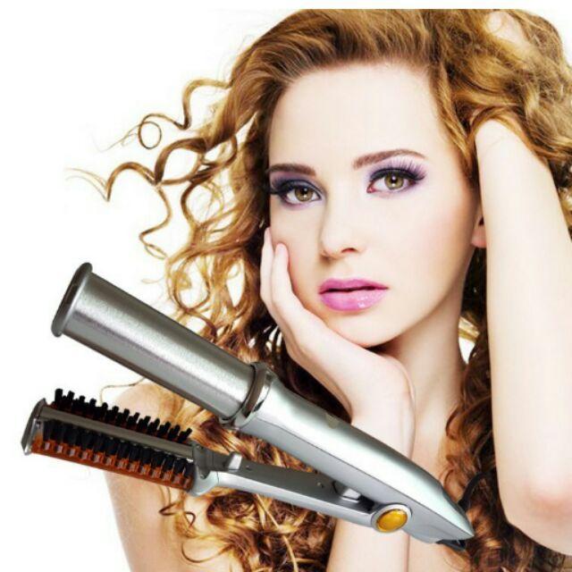 Instyler 兩用電動捲直髮器自動捲髮器可批貨