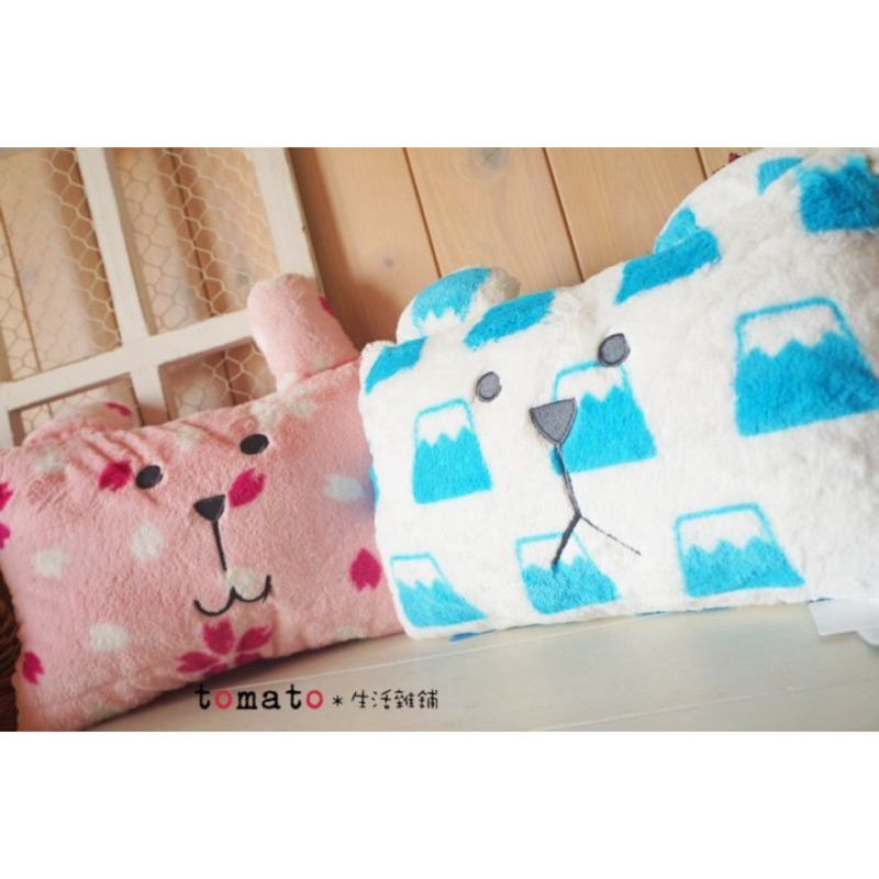 ˙TOMATO 雜鋪˙ 雜貨JAPAN CRAFTHOLIC 富士山熊櫻花兔子系列午安枕靠