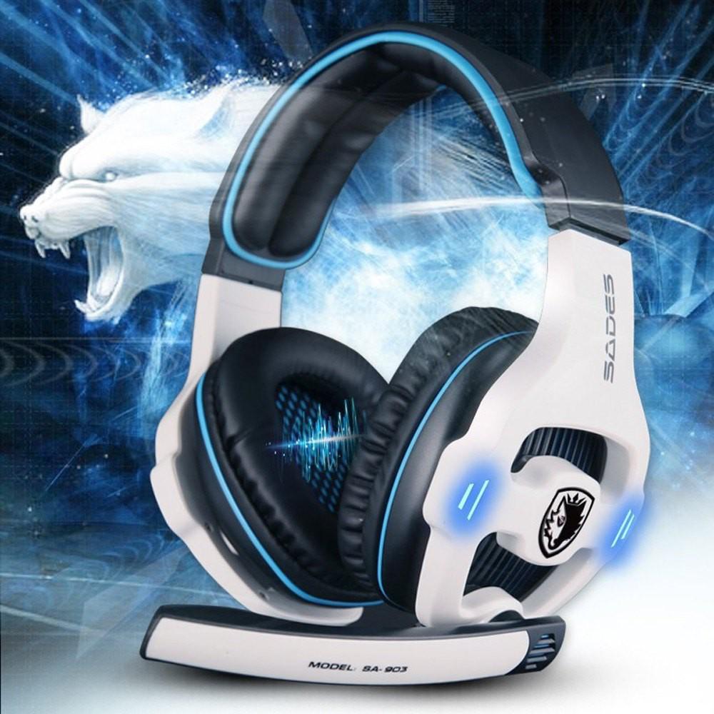 ♬Sades SA 903 7 1 聲道遊戲耳機USB 電競耳麥