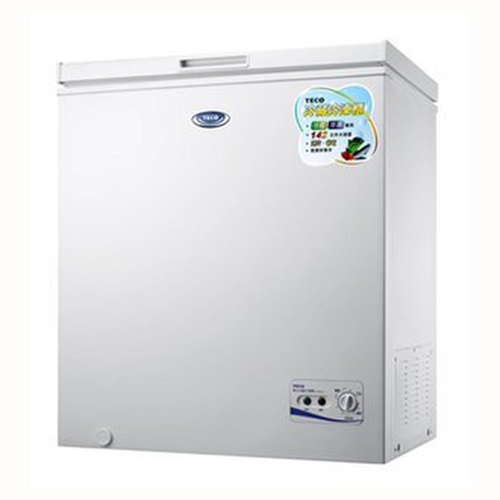 雙喬國際~東元TECO ~142L 單門冷凍櫃RL1481W