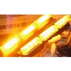 黃黃1 對2 ㄧ對二高功率LED 爆閃將軍燈警示燈警用燈閃光燈長排燈短排燈日行燈吸頂燈將軍