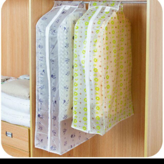 透明印花立體防水衣物防塵罩防塵袋防塵套