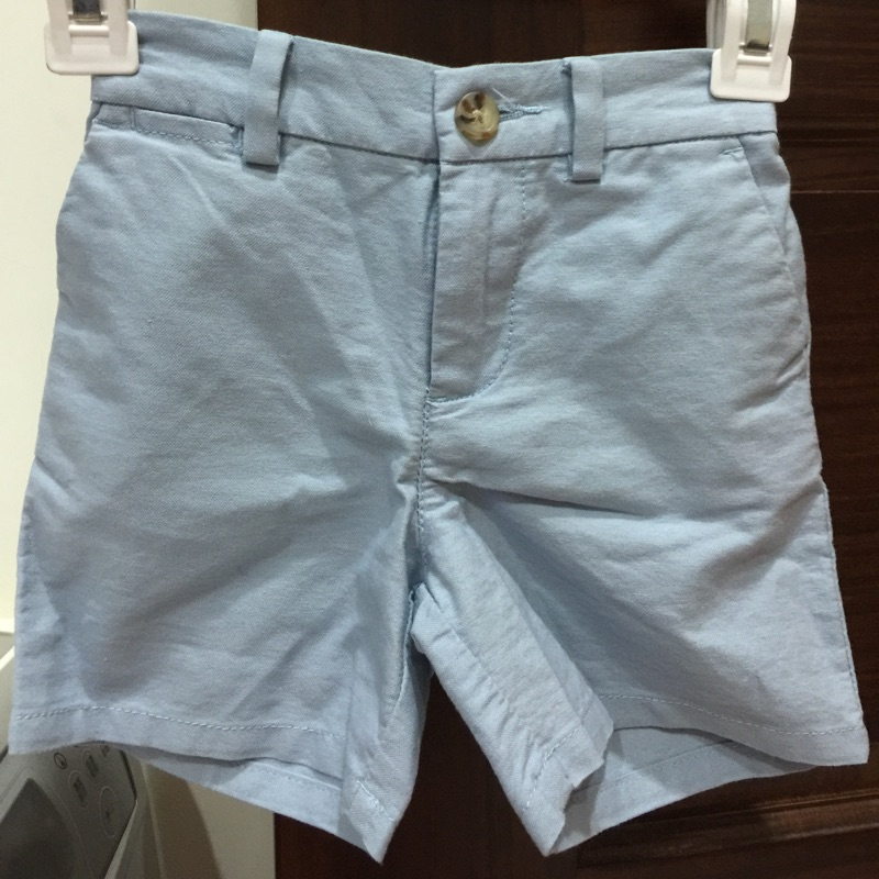Ralph Lauren PoLo baby boy 水藍色短褲~