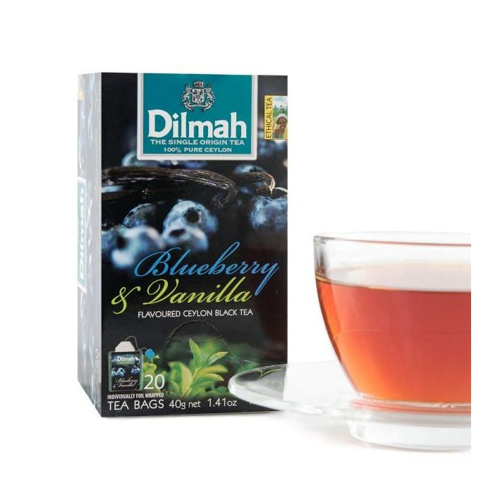CoCoTea ~帝瑪藍莓香草茶Dilmah Blueberry Vanilla