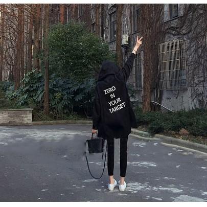 價JDC  2017 秋裝風衣女中長款寬松薄款 外套春裝學生春秋女裝長袖上衣韓妞 大學T