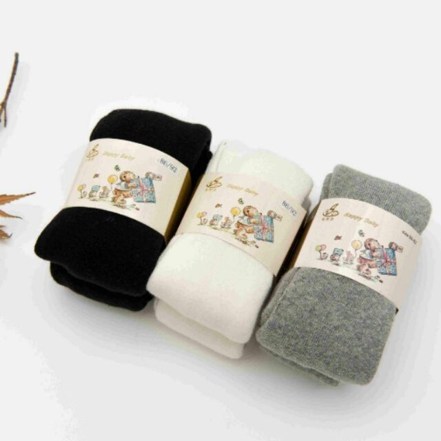 兒童寶寶嬰幼兒男童女童 加厚毛圈褲襪