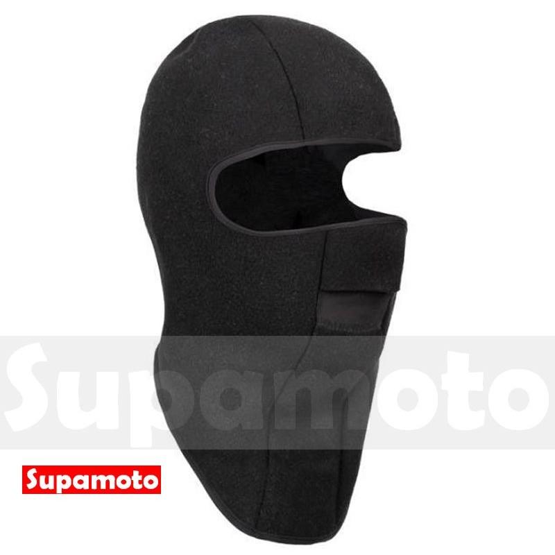 Supamoto 保暖頭套F 款抓絨加厚絨毛圍巾頭巾口罩防風面罩全罩魔術騎士