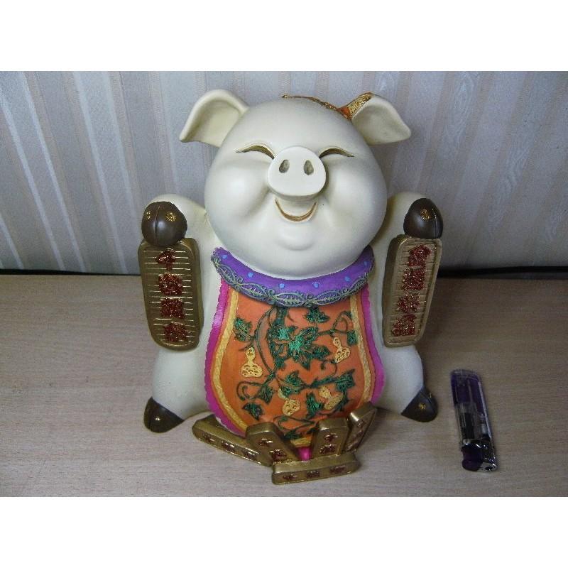 金條豬存錢筒小豬豬仔pig 撲滿存錢擺飾擺設擺件家飾裝飾藝品開店送禮