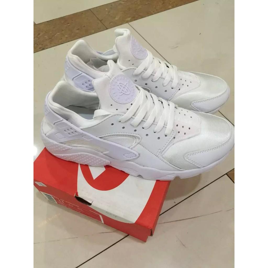 正品Nike Air Huarache Ultra Run 華萊士白色武士鞋休閒 慢跑鞋f