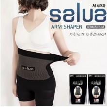 享瘦韓國Salua 美體塑型腰帶超彈性收腹帶減肚子瘦腰塑腹帶男女款黑色
