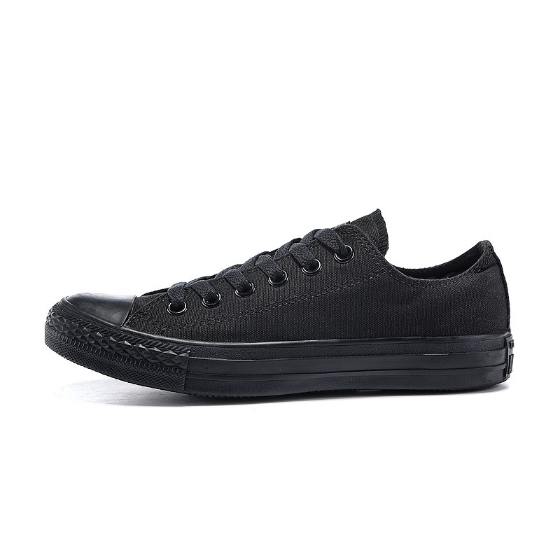Converse Chuck Taylor All Star 全黑 款 款低筒帆布鞋男女鞋