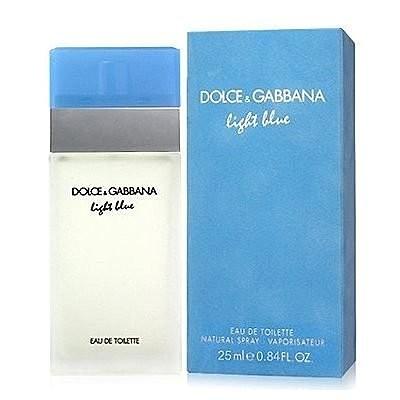 ~山姆 ~D G light blue 淺藍女性淡香水50ml 可門市 面交超取