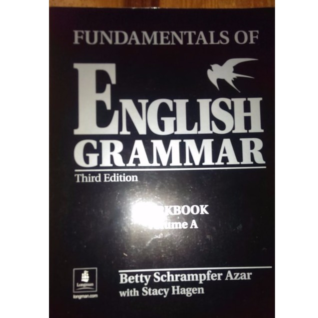 大專英文系用書~Fundamentals of English Grammar Workb