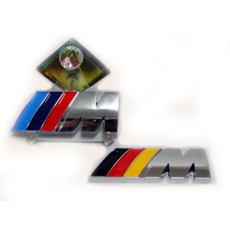 BMW 寶馬新3 系改裝車貼M 標新3 系5 系1 系M3 M1 E92 裝飾貼紙後車箱貼