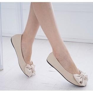 大方蝴蝶結甜美休閒包鞋. 399 ~A01 A707 ~
