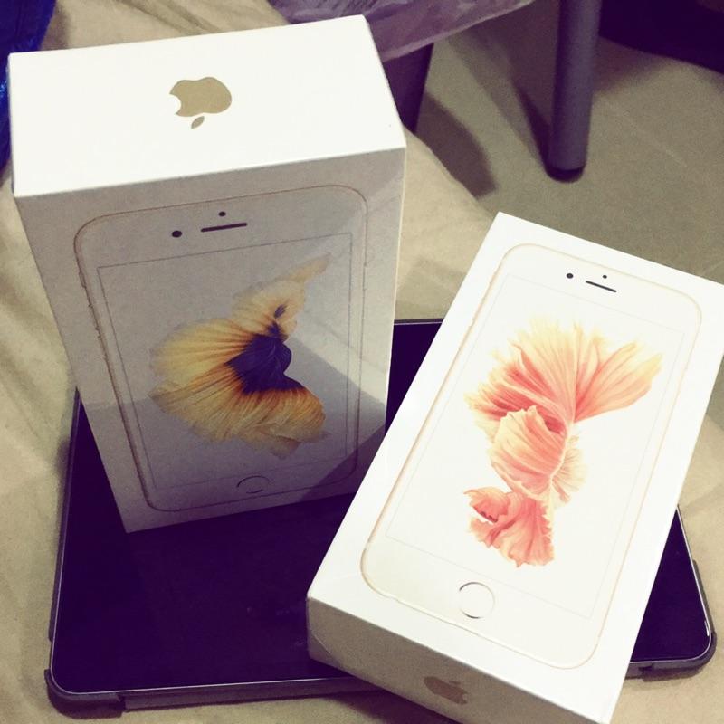 iPhone 6S 64G 機金色和玫瑰金