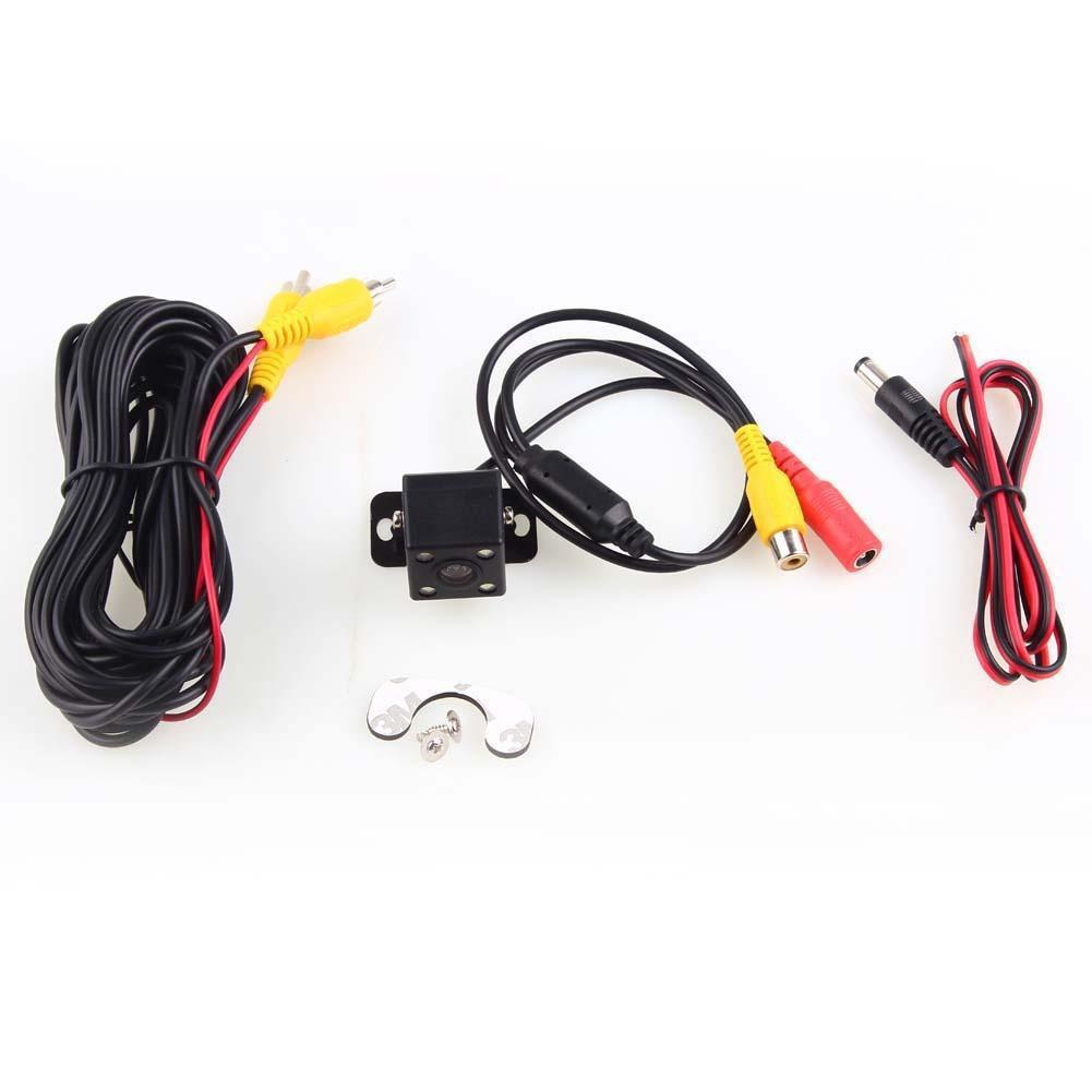CCD LED 汽車後視圖備用倒車停車攝像頭