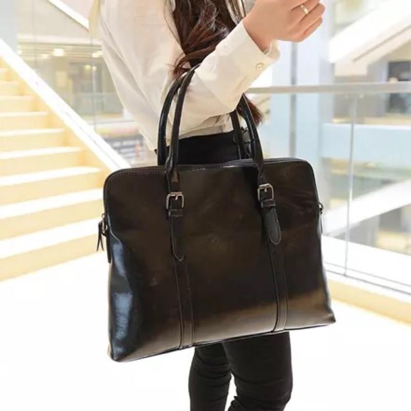 OL 通勤商務女士公文包包2017 手提包文件大包 氣質職業女包