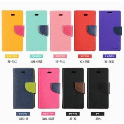 Apple iphone 5 6 6plus ~韓國水星Mercury 撞色皮套保護殼插卡