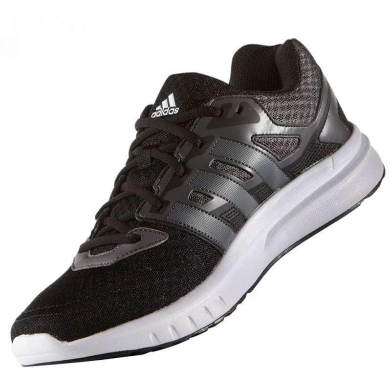 5 12 捕貨ADIDAS GALAXY 2 M 男款黑白輕量 透氣慢跑鞋AF6688