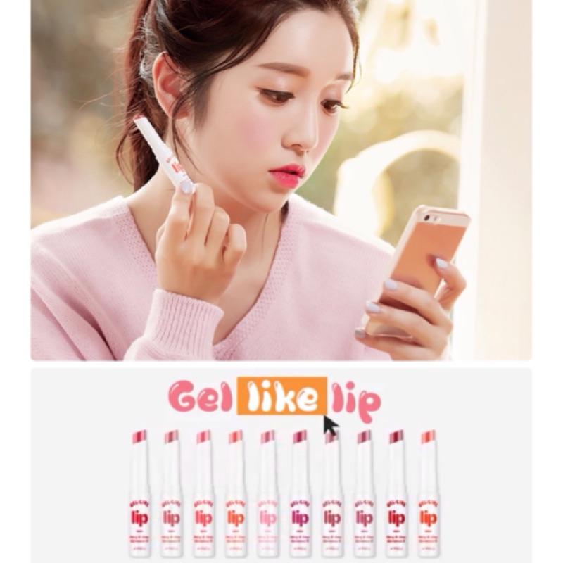 韓國空運Apieu Gel Like Lip 保濕水潤唇膏A pieu