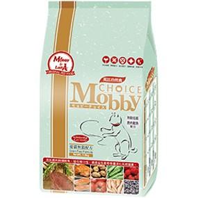~超取限三包~莫比Mobby 自然食愛貓無穀鹿肉鮭魚配方貓飼料1 5kg