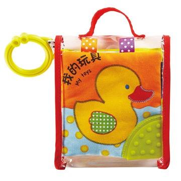 我的玩具寶寶最愛的磨牙布書風車~5大 布書,促進寶寶感覺統合能力~