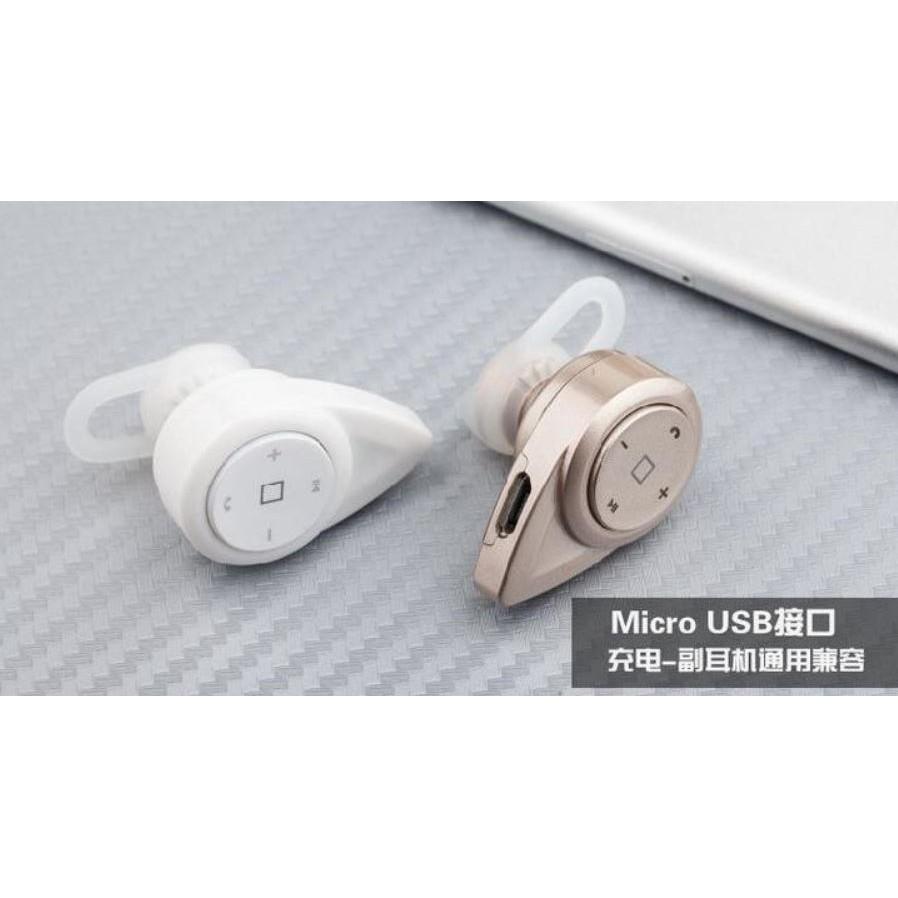 水滴型單雙耳無線立體耳機 各類型藍芽手機和平板支援聽歌上下曲加減音量調節Skype 通話L
