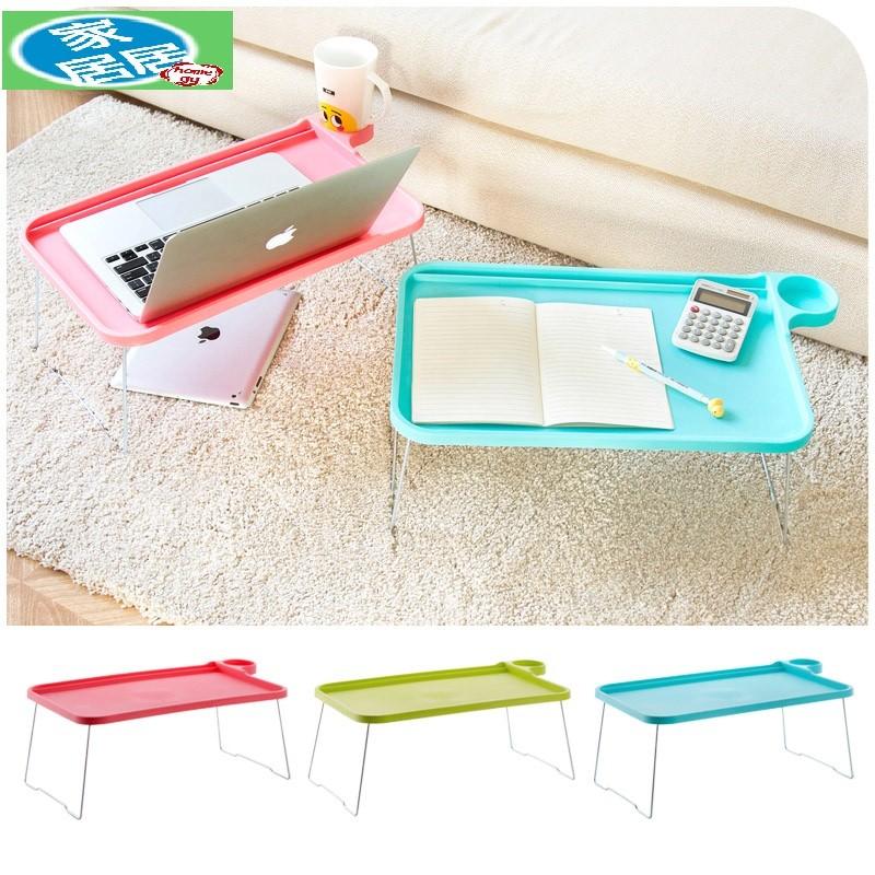 家居居折疊電腦桌宿舍床上用懶人餐桌家用學生簡易筆記本小桌子