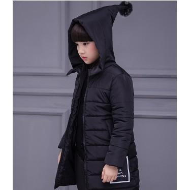女童冬裝棉衣2016 棉襖加厚兒童棉服外套小女孩中長款