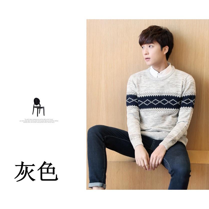 休閒款針織毛衣