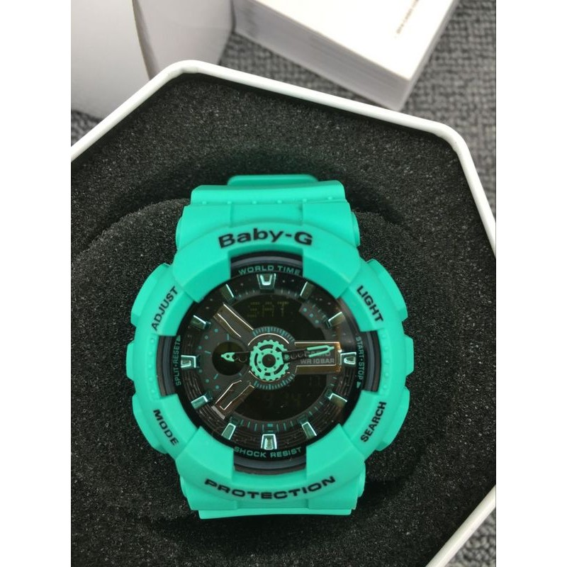 正品CASIO G SHOCK Baby G GA 100 BA 111 3A 電子手錶卡