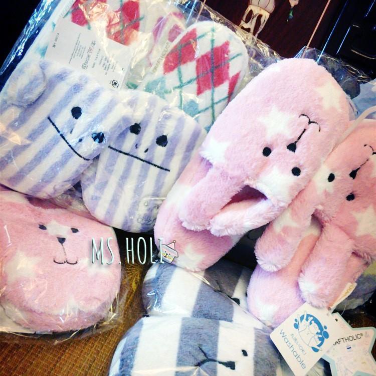 holi ☄多款Craft 室內拖鞋鞋子☃世界足球好朋友猴猴子雀斑狗狗麋鹿粉紅色星星兔兔