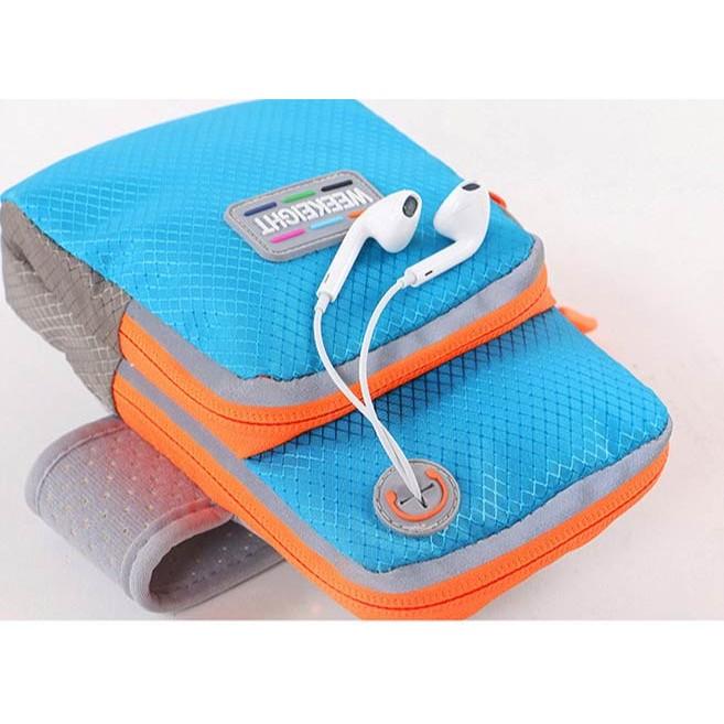 哇寶箱 手機臂包男女跑步裝備臂套腕包戶外用品iphone6 plus 臂帶臂袋