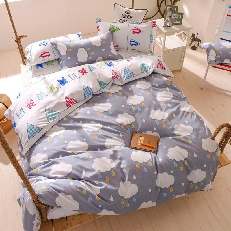 Ania Casa ~烏雲~美肌磨毛床包被套組單人雙人雙人加大6 6 2