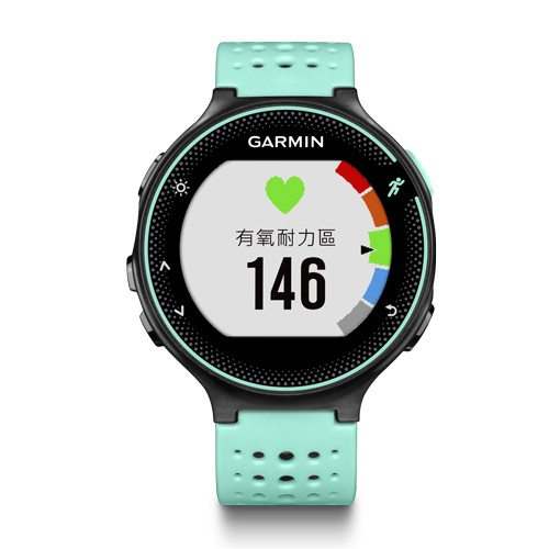 YR 小舖GARMIN Forerunner 235 GPS 腕式心率跑錶追風藍
