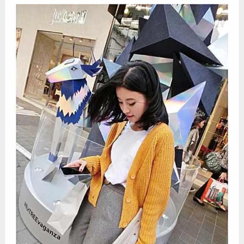 夏秋裝韓國百搭純色短款毛衣外套學院風粗線針織衫