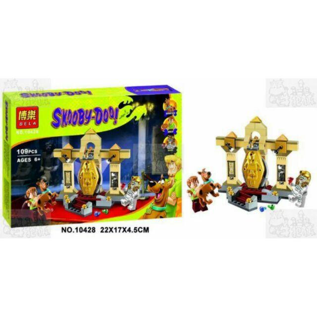 ~牛把拔~~ ~~博樂10428 ~史酷比系列木乃伊博物館之謎Scooby Doo 非LE
