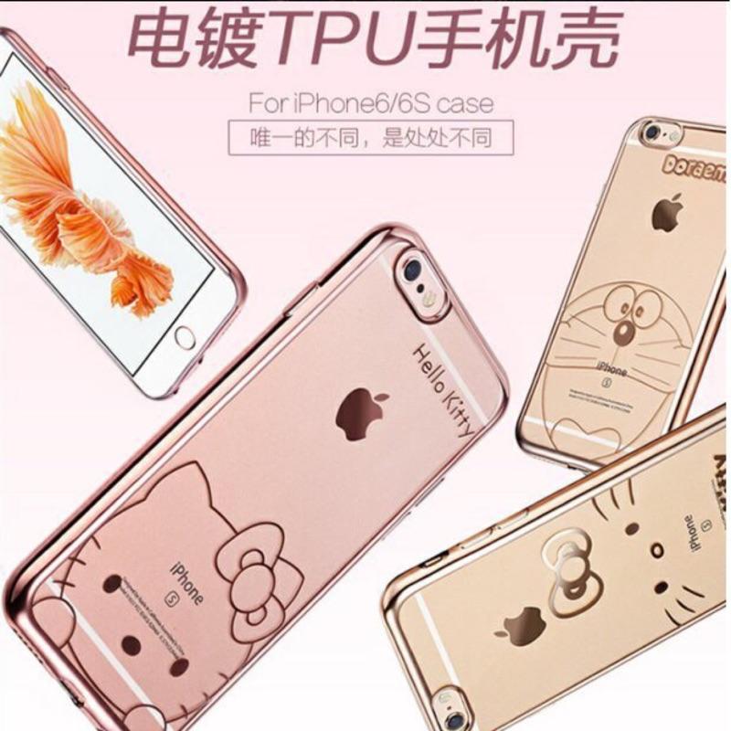 ❤️新品!米特Meet 電鍍版kitty 史迪奇全包軟殼iphone 手機殼電鍍殼6 6s