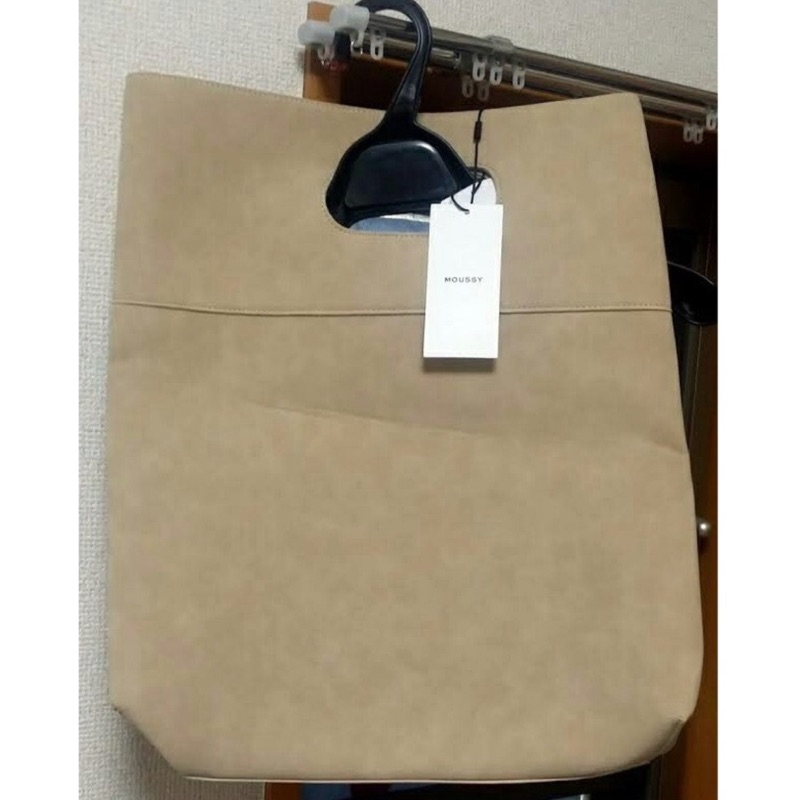 moussy 駝色手提包購於專櫃