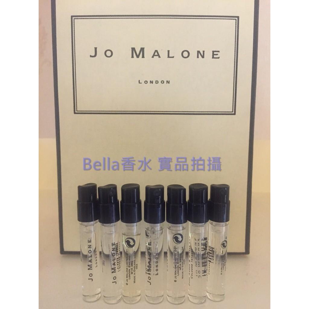 Jo Malone 針管1 5ML 英國梨含羞草葡萄柚百合柑橙杏桃花與蜂蜜黑石榴黑莓子月桂