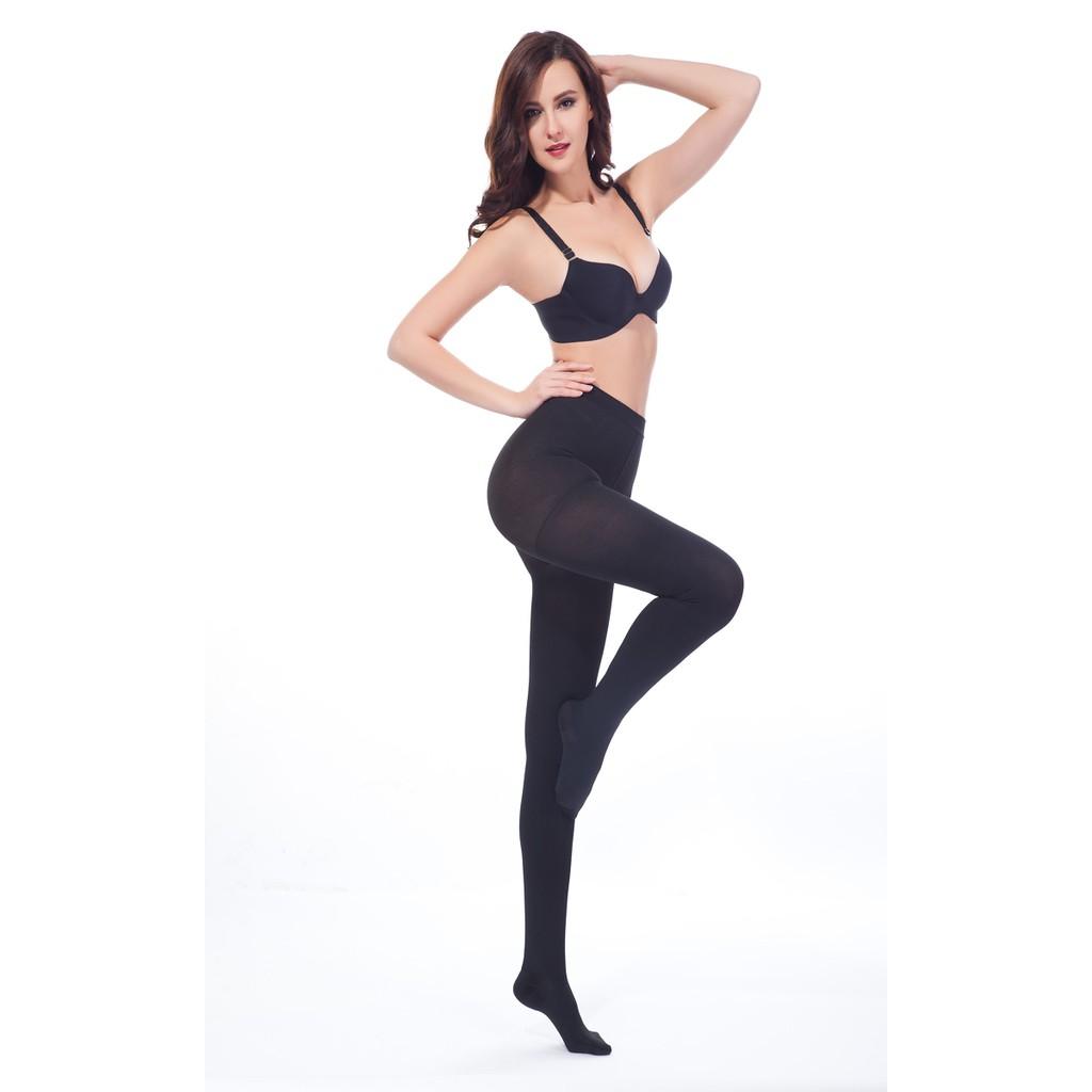 製100 丹夏日超薄透膚性感絲襪美腿連身開檔褲襪中壓,棉質無縫一體塑腹提臀高腰保暖 超彈力