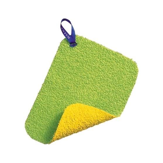製MARNA 除水垢清潔布~水龍頭除茶垢 清潔布雙面菜瓜布
