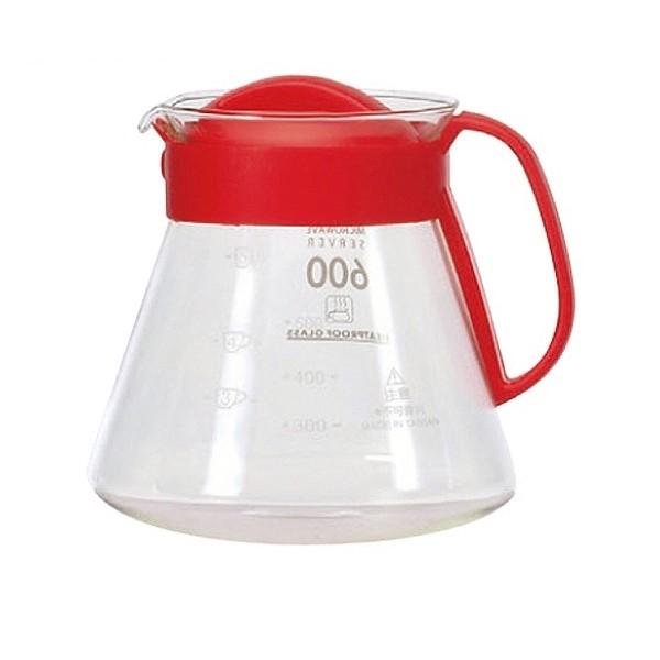 晴天咖啡☼台玻600ml 耐熱玻璃壺刻度手沖壺咖啡壺開水壺水果茶花茶壺熱水壺濾杯銜接壺小可