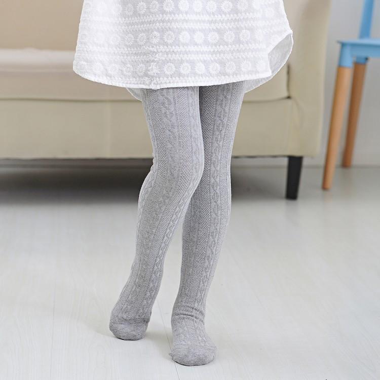 童年不同樣  純棉百搭打底褲春秋款兒童打底褲女童連褲襪寶寶白色舞蹈襪子大童純棉針織長褲子