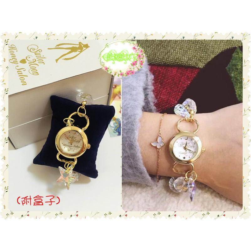 ~LILI 艾~美少女戰士Sailormoon 守護星符號星星水晶珠子手鍊手錶~GX009