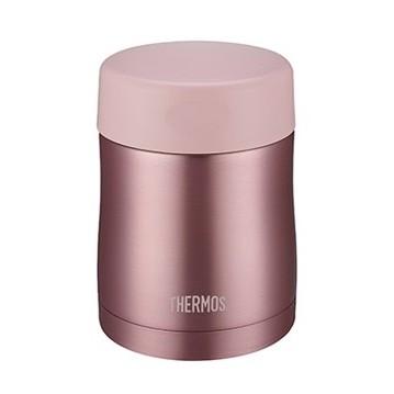 絕版品THERMOS 膳魔師不銹鋼真空保溫罐燜燒罐悶燒罐食物罐300 mL 粉色JCU 3