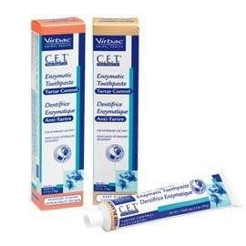 法國維克Virbac C E T 雙酵素犬貓用免洗牙膏牛肉口味70g 預防牙周病及去除牙菌